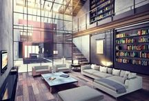 Cool Interiors / Places I want to live in.