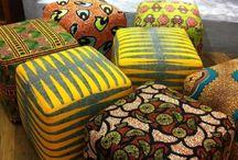 African Print Furniture