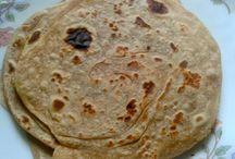 Indian Bread Recipes / Indian bread recipes - paratha recipe, roti, chappati recipes, naan, etc