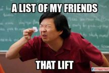 Do you even lift, bro? / by Mindy