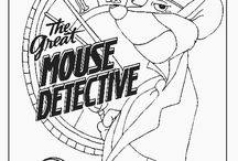 The Great Mouse Detective  Coloring Pages