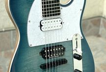 Telemakasters / Telecaster style guitars