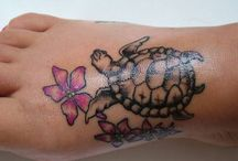 Turtle Tattoos & Other Inks