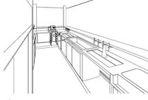 Kitchen and Bar Designs / See some of our latest blue prints and design mockups for our client's projects.
