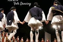 Folk Dancing / Folk dances and ideas for teaching dancing in your music room! / by Aileen Miracle
