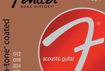 Musical Instruments - Acoustic Guitar Strings / by Heather Cobb