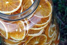 αποξηραμένα  πορτοκάλια