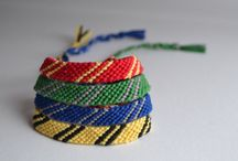Friendship Bracelets / Adjustable Friendship Bracelets. Embroidery Thread.