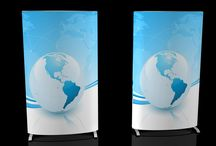 FabX Displays / Want to promote your company with visuals? Gain brand recognition by using our fabulous FabX displays!