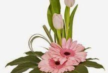 κατασκευες  με λουλουδια