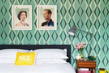 Interesting Rooms: Wallpaper