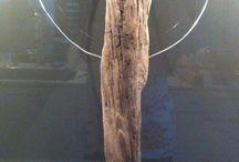 Basteln mit Treibholz