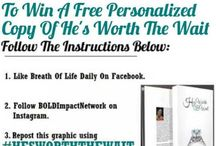 BOLD Giveaways!! / The latest giveaways on BOLDJournal!! / by April D. Byrd