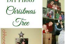 kerstboom van foto.s