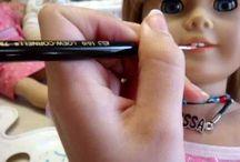 AG Repairs / American Girl doll repairs / by Judy Hart