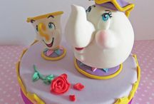 Mrs. Potts and Chip cake