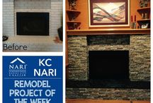 KC NARI: Remodel Project of the Week / This board features various remodeling projects of the KC NARI members.