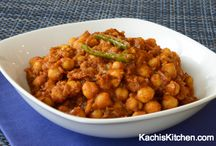 Chickpea dishes