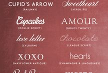 Typography Love / by Lesli Harker
