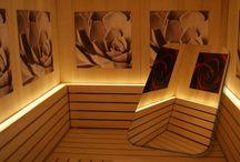 Sauna: un abbraccio di calore - a warm embrace / Forme inconsuete, personalizzazioni a tema, infinite varianti. Le saune esclusive di Wellness Today. Unusual shapes, custom-made solutions, an infinity of versions. The exclusive saunas by WellnessToday.