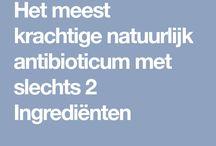Zelfmaak antibiotica
