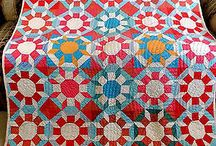 Quilt Inspiration / Just beautiful quilts -  maybe the colors are inspiring or perhaps the block is tricky.  Whatever he reason, I like it / by Tracy Pursley