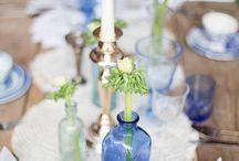 China blue wedding