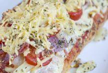 Pizza ciabatta