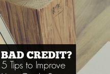 Credit Repair / Tips to Repair Your Credit & Improve Your Credit Scores