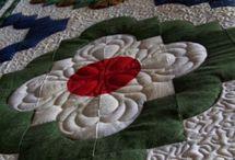 flower drunkards path pattern
