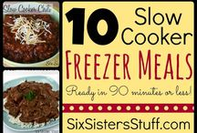 Food - Slow Cooker and Instant Pot