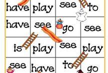 Kindergarten classroom games