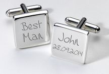 Cufflinks / Engraved Cufflinks available from The Little Lovebird 'The Personalised Wedding Specialists' www.thelittlelovebird.uk www.facebook.com/thelittlelovebird An award finalist boutique full of beautiful clothing, personalised gifts, wedding decor and bridal accessories
