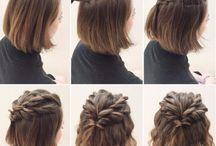 Hair Style For Short Hair❤