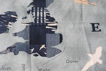 Good Old Blighty quilt ideas / Janet Clare designed quilt. Class