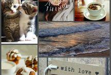 """Mood Board / Mood board - """"tavola dell'umore"""" - è un collage di immagini, colori, frasi (utilizzato dai disegner e fotografi per presentare un progetto).. mi ricordano i Simple life e lo scrapbooking per cui li adoro!"""