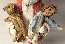 Santas Galore / Vintage Christmas, Vintage Santas, Carved Santas, Father Christmas, Saint Nick