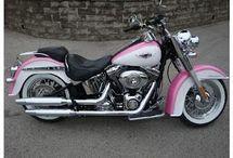 Pink bikers - my love <3