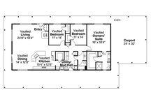 Huis - vloerplan