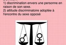 Le sexisme: