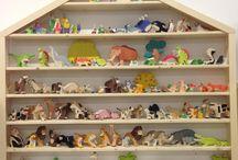 How to display Ostheimer & Holztiger wooden figures