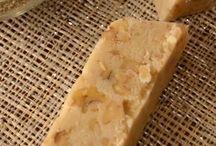 Cocina turrón de nata de nuez  y  y receta