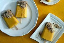 Frozen Desserts / Icecream lollies, popsicles, frozen treats, sorbets and more
