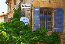 French school in the Provence-Saint Rèmy-De-Provence / Saint Rèmy-de-Provence in full bloom during the summer period. Learn French and take tours with French For English. Contact@english4french.com