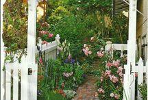 arbors, fences, pergolas