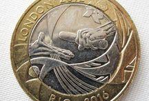 moeda das olimpíadas