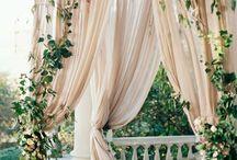 Green botanical wedding