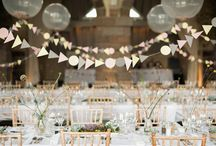 Marquees and long tables