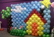 Balloon fine balloon
