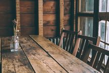 Into the woods / Cabins in the woods and rustic life inspiration
